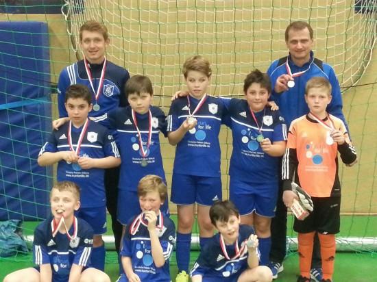 E-Jugend: Hallenkreismeisterschaft 2014/2015