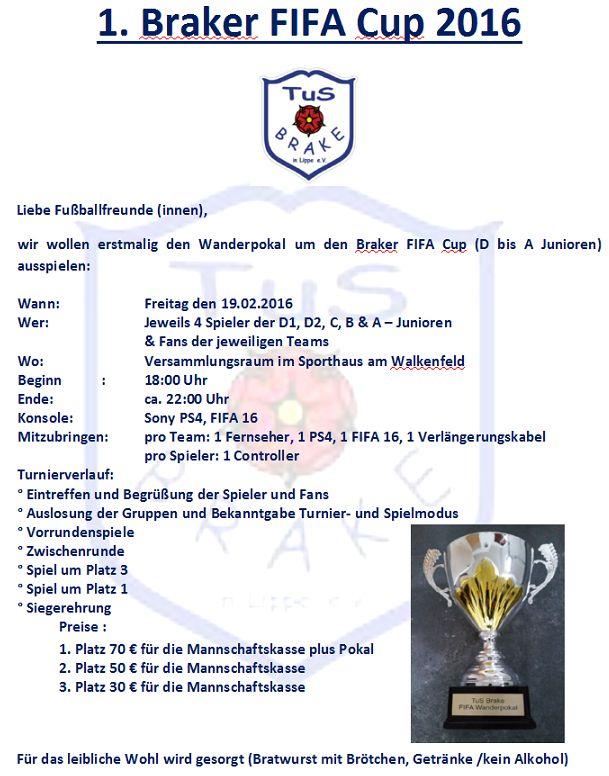 1. Braker FIFA Cup