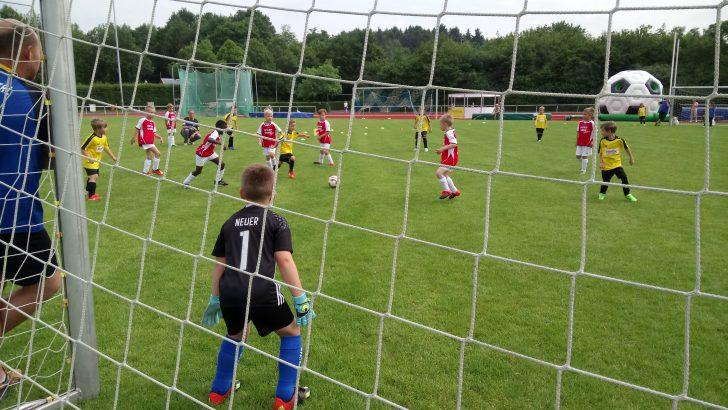 Schloss-Cup: Beeindruckendes Kinder- und Jugendturnier