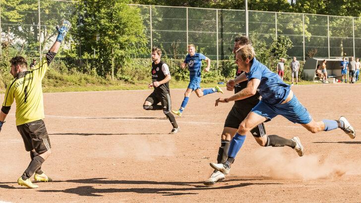 Aufatmen: Sieg in Lockhausen